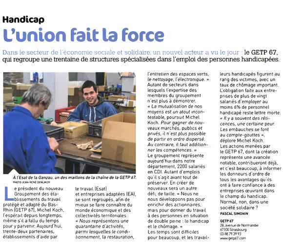 GETP 67 - Article Strasbourg Magazine